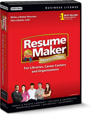 resumemaker professional deluxe for libraries